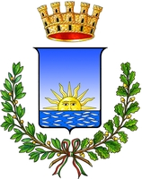 coat of arms for Alba Adriatica, Italy