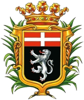 coat of arms for Aosta, Italy