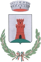 coat of arms for Bagno di Romagna, Italy