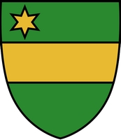 coat of arms for Mont-Saint-Guibert, Belgium