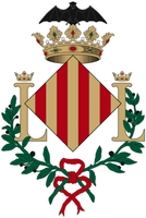 coat of arms for València, Spain
