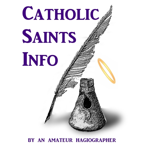 Catholic Saints Info podcast logo