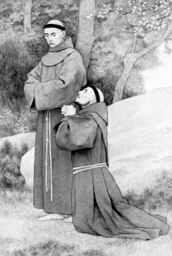 Saint Francis and Brother Masseo
