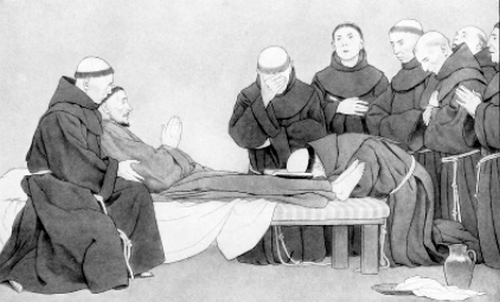 Death of Saint Francis