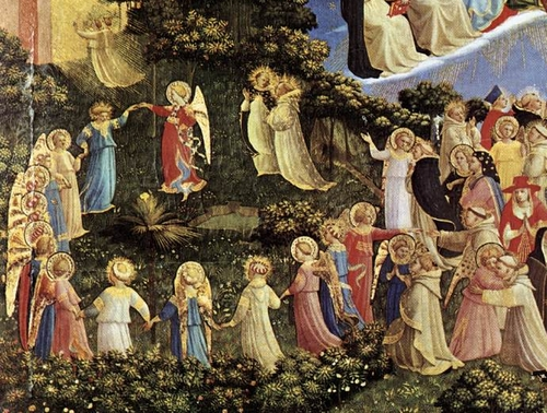 Dance of the Angels, from The Last Judgment, by Fra Angelico