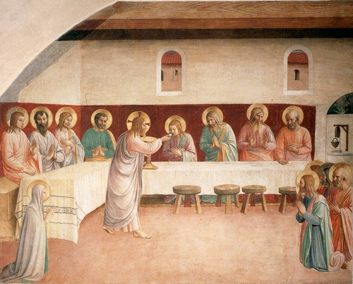 The First Eucharist, by Fra Angelico