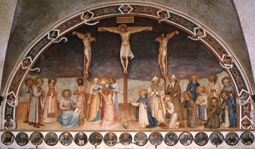 The Crucifixion, by Fra Angelico