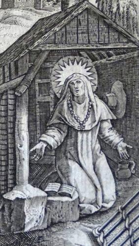 sveta Iveta (Juta) - vdova in rekluza