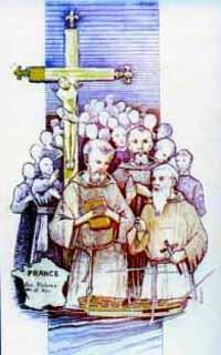 blaženi Gabrijel Pergaud - duhovnik in mučenec