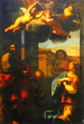 sveta Mario, Marta in sinova - zakonca in sinova, mučenci