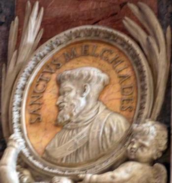 sveti Melkijad - papež