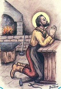sveti Baldomer - kovač in subdiakon