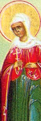 sveta Bazilisa - devica in mučenka