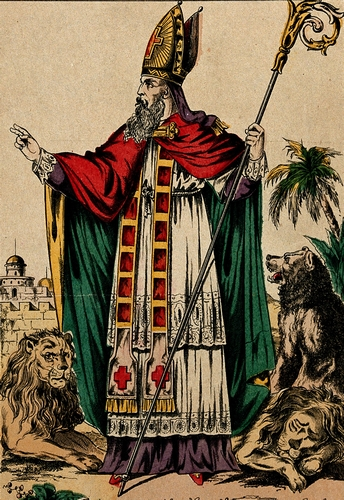 Saint Blaise and His Beasts