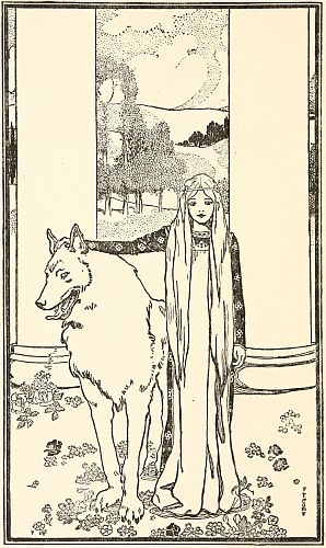 Saint Bridget and the King's Wolf