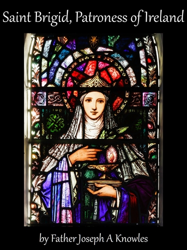 cover of the ebook 'Saint Brigid, Patroness of Ireland', by Father Joseph A Knowles