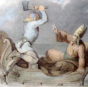 sveti Henrik iz Uppsale - škof in mučenec