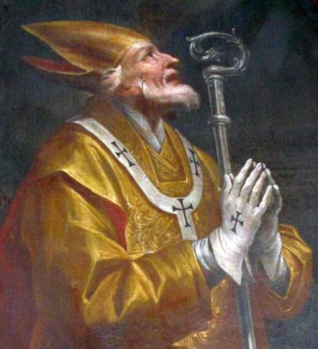 sveti Mansvet - škof