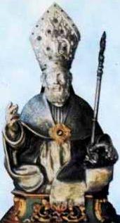 sveti Paris - škof