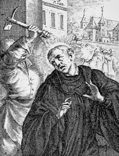 Saint Rainald, Monk and Martyr
