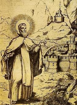 sveti Saturij - puščavnik