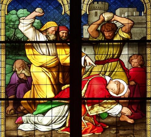 sveti Štefan - diakon in prvi mučenec