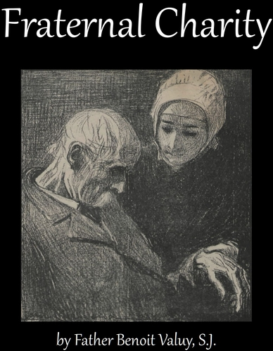 cover of the ebook 'Fraternal Charity', by Father Benoit Valuy