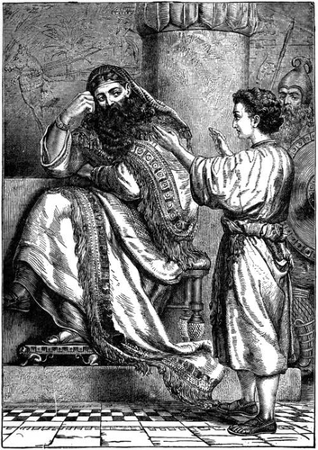 Joseph Before the Pharoah