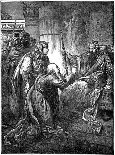 Jacob Presented to Pharoah