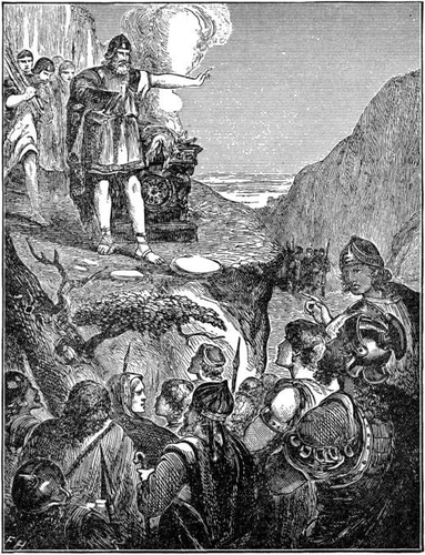 The Altar on Mount Ebal