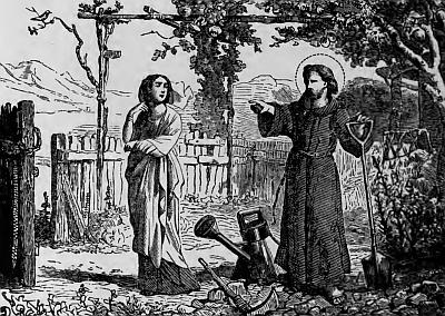 sveti Siren - puščavnik, vrtnar in mučenec